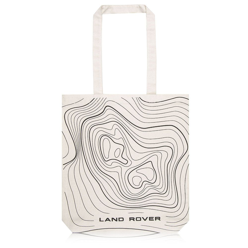 Relief Map Tote Bag