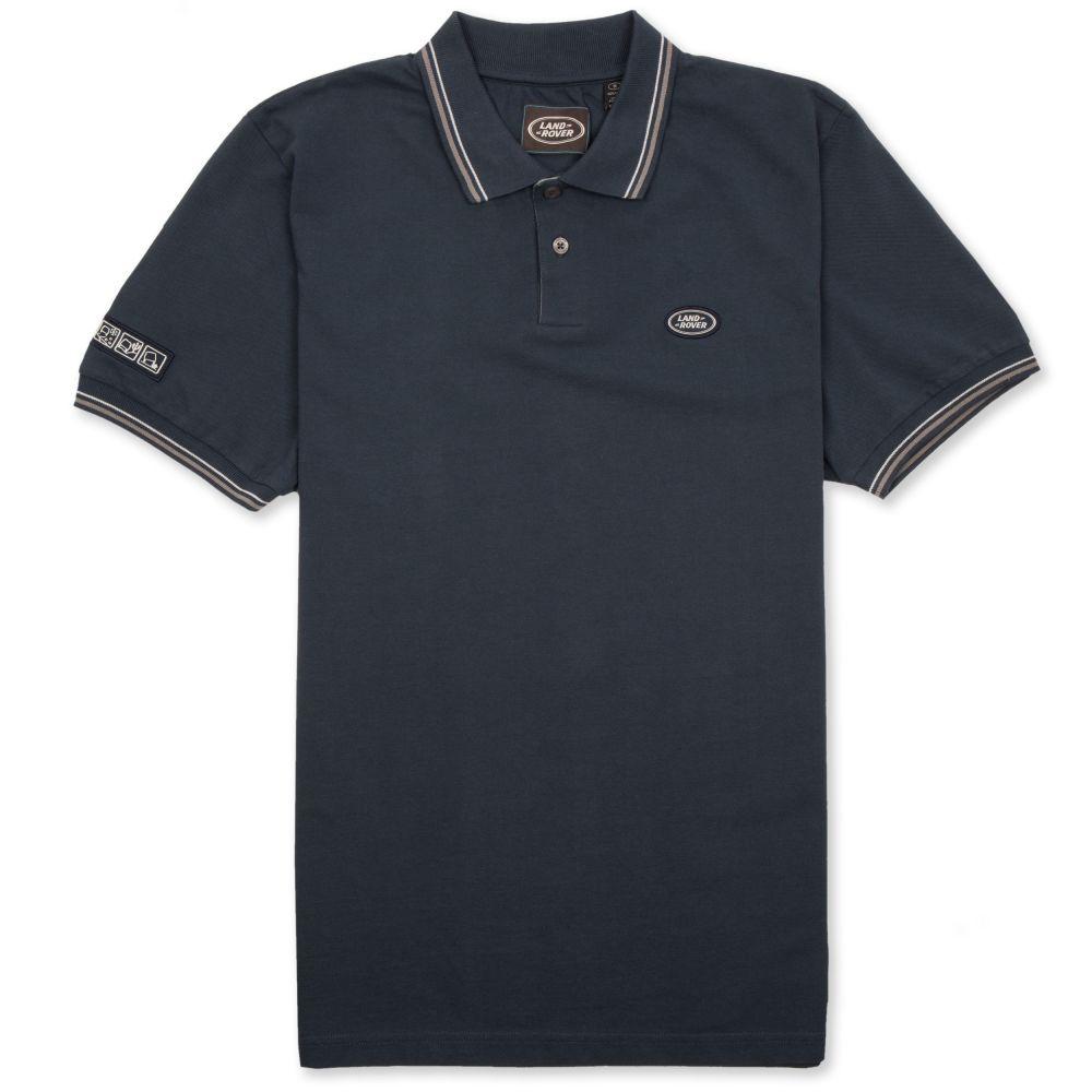 Men's Oval Badge Polo Shirt