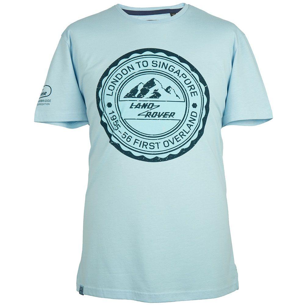 Men's Travel Stamp Graphic T-Shirt