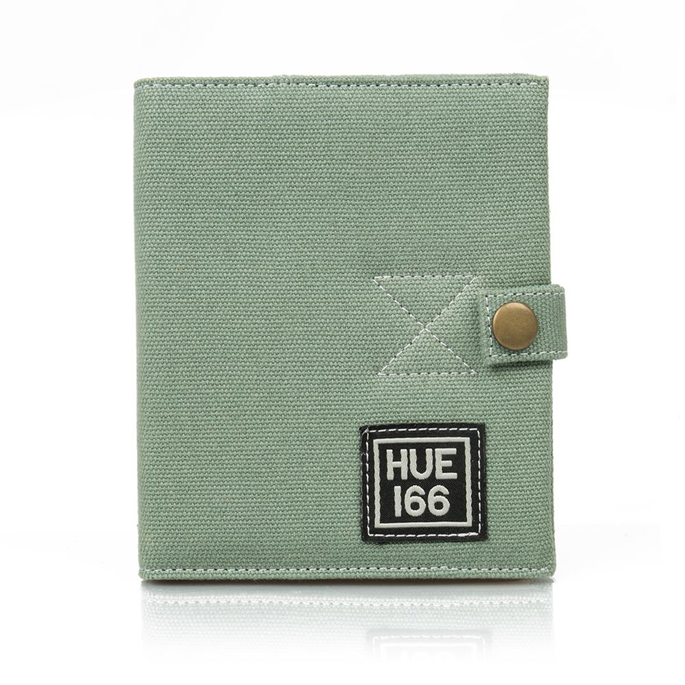 Hue Note Book and Organiser - Green