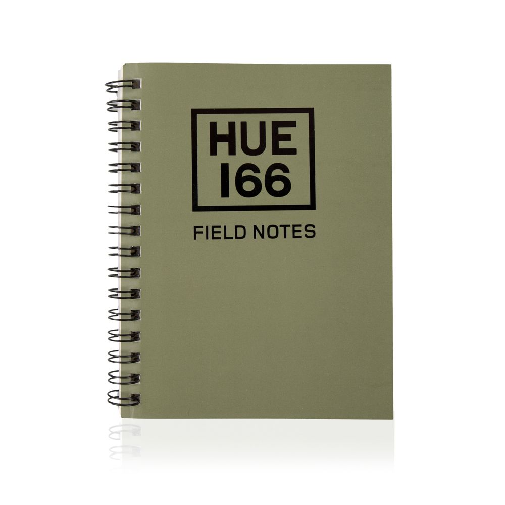 Hue Note Book Small A6 - Green